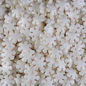 Flocos de Neve Brancos Comestíveis , 75 gr.