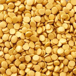 Sprinkles Comestíveis Mini Discos Dourados, 56 gr