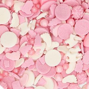 Sprinkles Comestíveis Mix Baby Girl, 50 gr