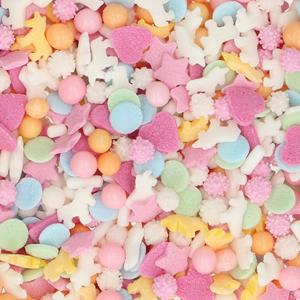 Sprinkles Comestíveis Mix Unicórnio, 50 gr
