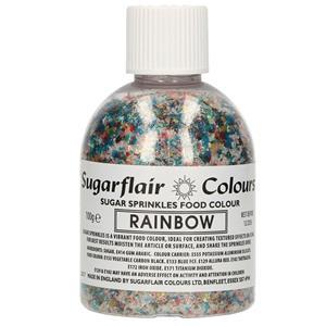 Sprinkles Comestíveis Rainbow, 100 gr