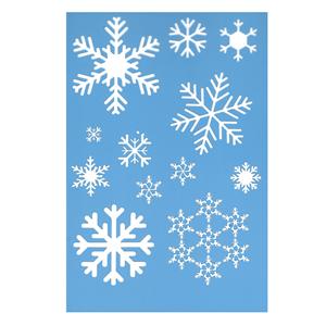Stencil Flocos de Neve, 20x30 Cm