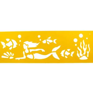 Stencil Sereia, 30 x 8 cm