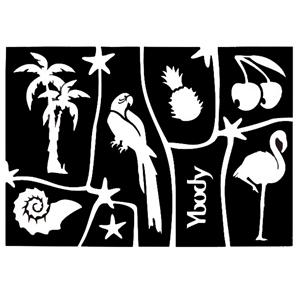 Stencil Tropical