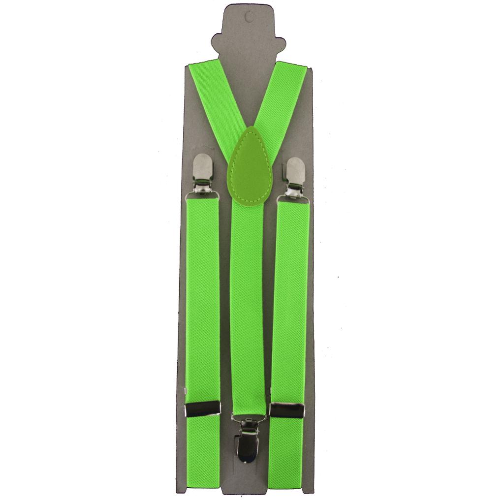 Suspensorios Verdes Fluorescentes, Adulto