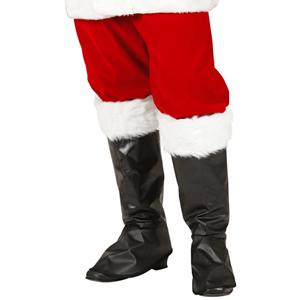 Tapa Botas Pai Natal Luxuosas