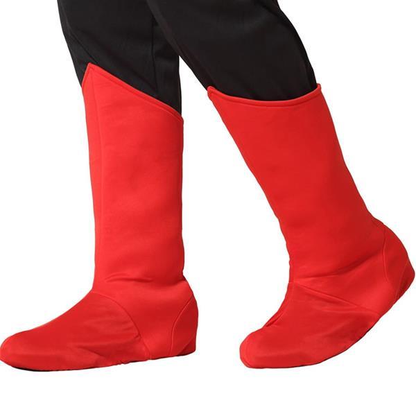 Tapa Botas Super-Herói Vermelho