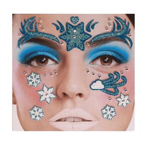Tatuagem Adesiva Princesa do Gelo Brilhante