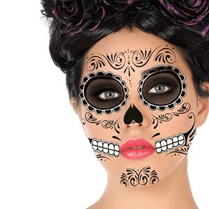 Tatuagens Temporárias Caveira Mexicana