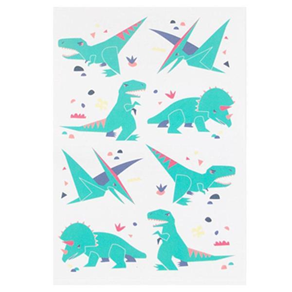 Tatuagens Temporárias Dinossauros