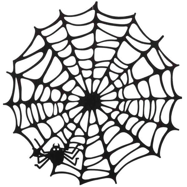 Teia Decorativa com Aranha