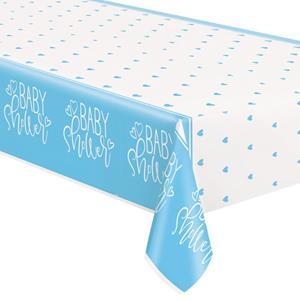 Toalha Baby Shower Azul, 137 x 213 cm