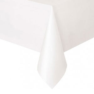 Toalha Mesa Branca, 137 x 274 cm