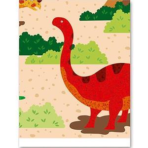 Toalha Mundo dos Dinossauros, 137 x 182 cm