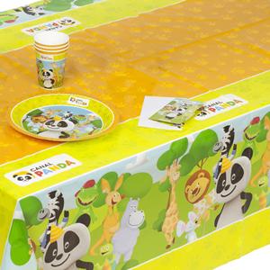 Toalha Panda em Plástico, 137 x 182 Cm