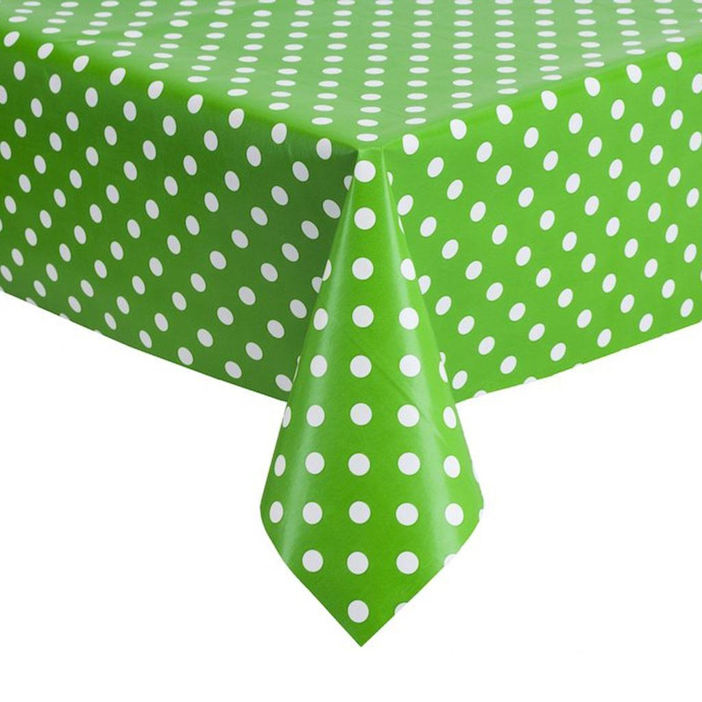 Toalha Verde Bolinhas, 137 x 274 Cm