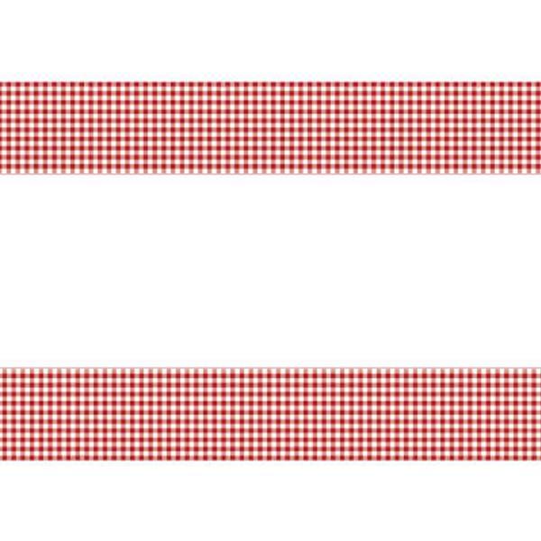 Toalha Vermelha Xadrez, 137 x 213 cm
