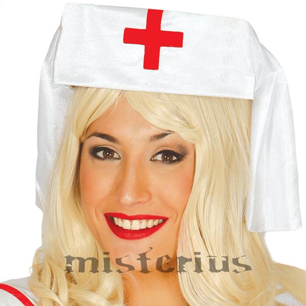 Tocado Enfermeira Branco