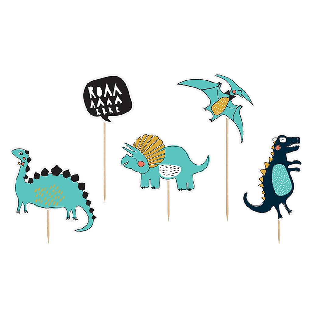 Topo Bolo Dinossauros, 5un