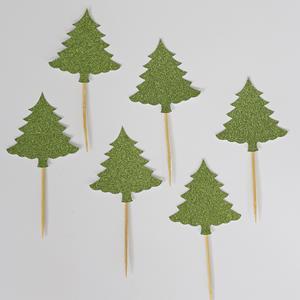Topper Árvores de Natal, 6 unid