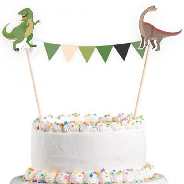 Topper Dinossauros Party, 20 cm