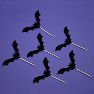 Topper Morcegos, 6 unid