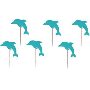 Toppers Golfinhos, 6 unid.