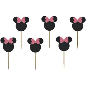 Toppers Minnie, 6 unid.
