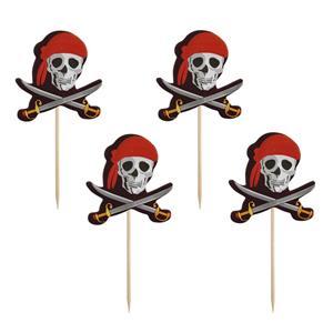 Toppers Pirata, 12 unid.