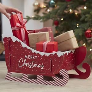 Trenó Merry Christmas para Presentes