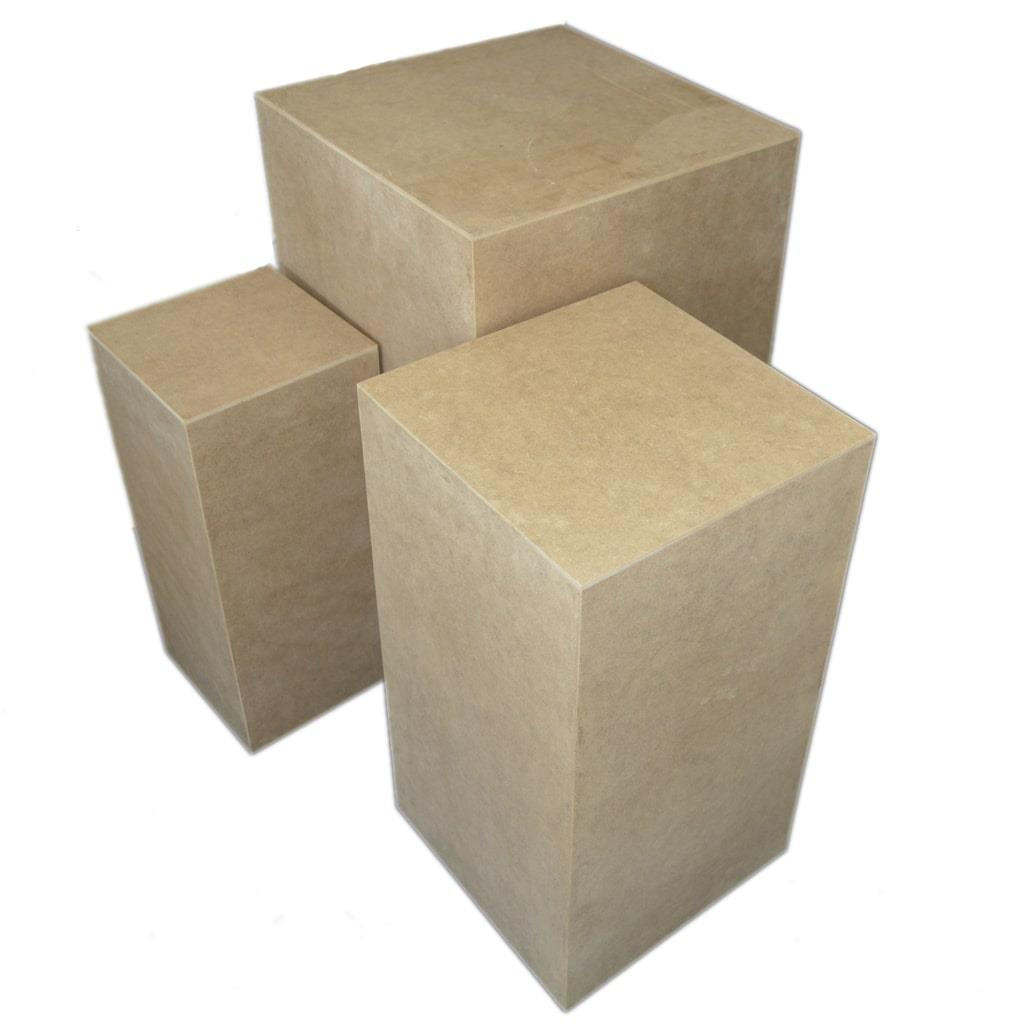 Trio Cubos MDF