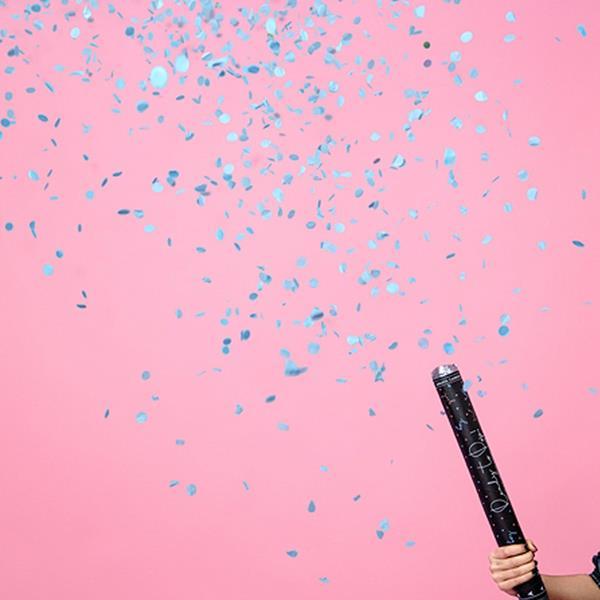 Tubo Confetis de Revelação Ready To Pop Boy, 60 cm