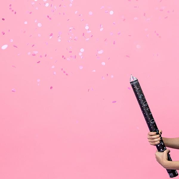 Tubo Confetis de Revelação Ready To Pop Girl, 60 cm