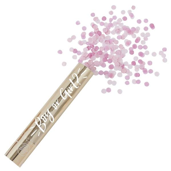 Tubo Confettis de Revelação, Girl