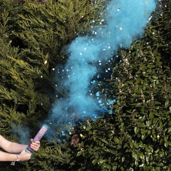 Tubo Lança Confetis e Fumo, Boy