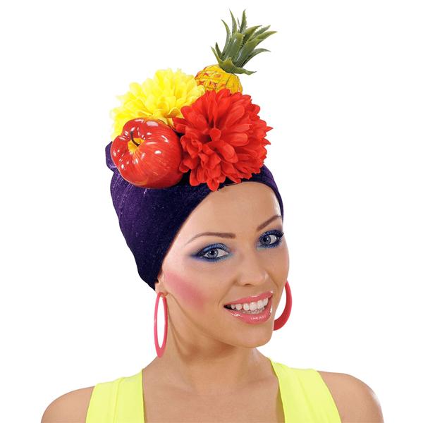 Turbante Frutos Carmen Miranda