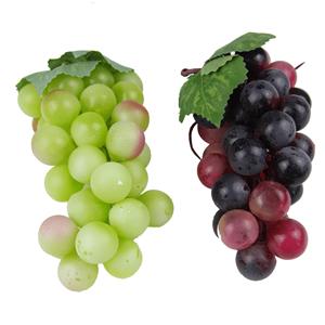 Uvas Falsas de Plástico