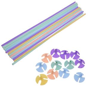 Varetas Pastel para Balões, 12 unid.