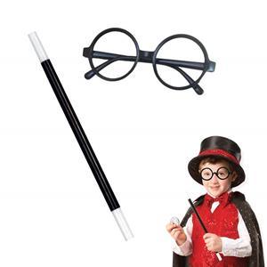 Varinha Mágica e Óculos Harry Potter