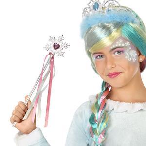 Varinha Princesa com Floco de Neve, 33 cm