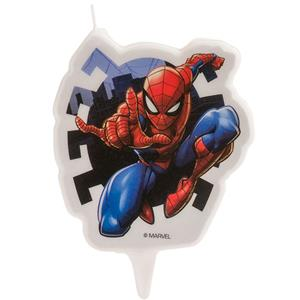 Vela 2D Homem Aranha, 8 cm