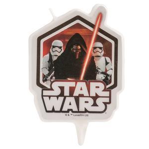 Vela 2D Star Wars, 10 cm