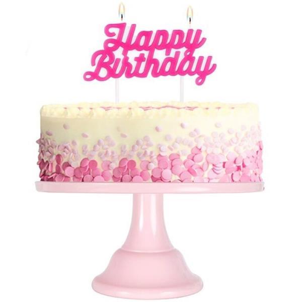 Vela Happy Birthday Rosa