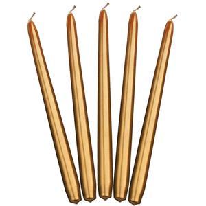 Velas Douradas para Castiçal, 10 unid.