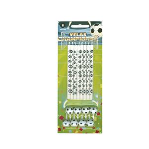 Velas Futebol 8 Unid.