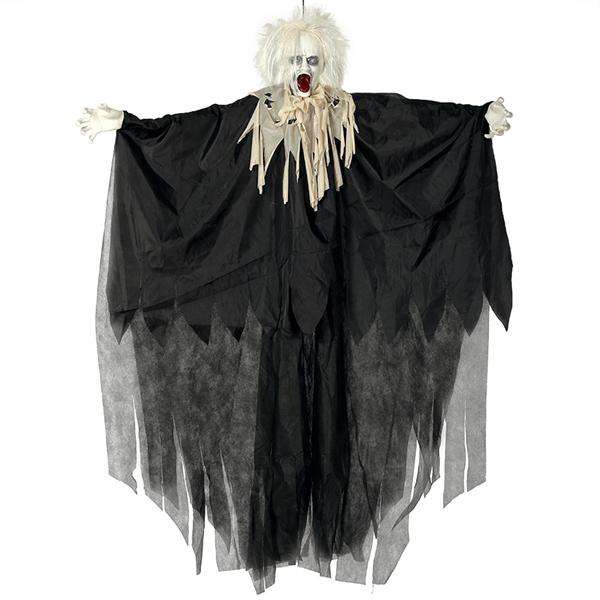 Zombie Louco Assustador, 170 cm