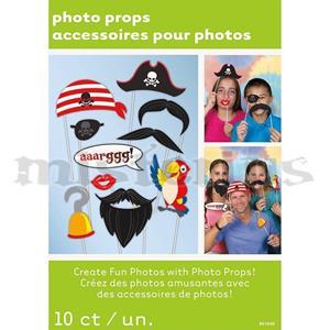 Adereços Cabine Fotográfica Pirata