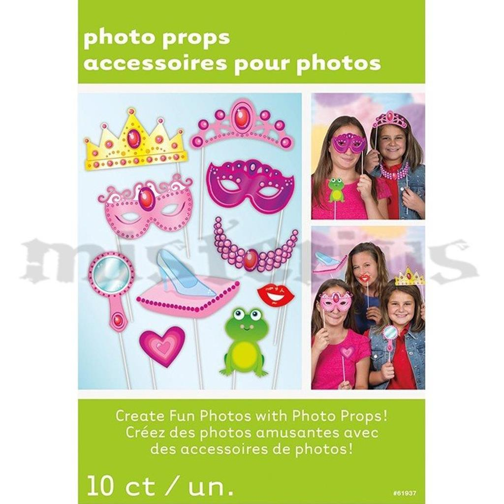 Adereços Cabine Fotografica Princesa