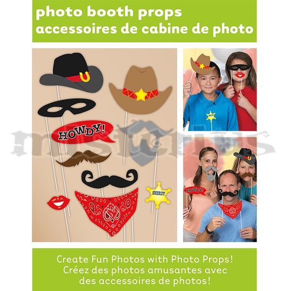 Adereços Cabine Fotos Sheriff 10 Unid.