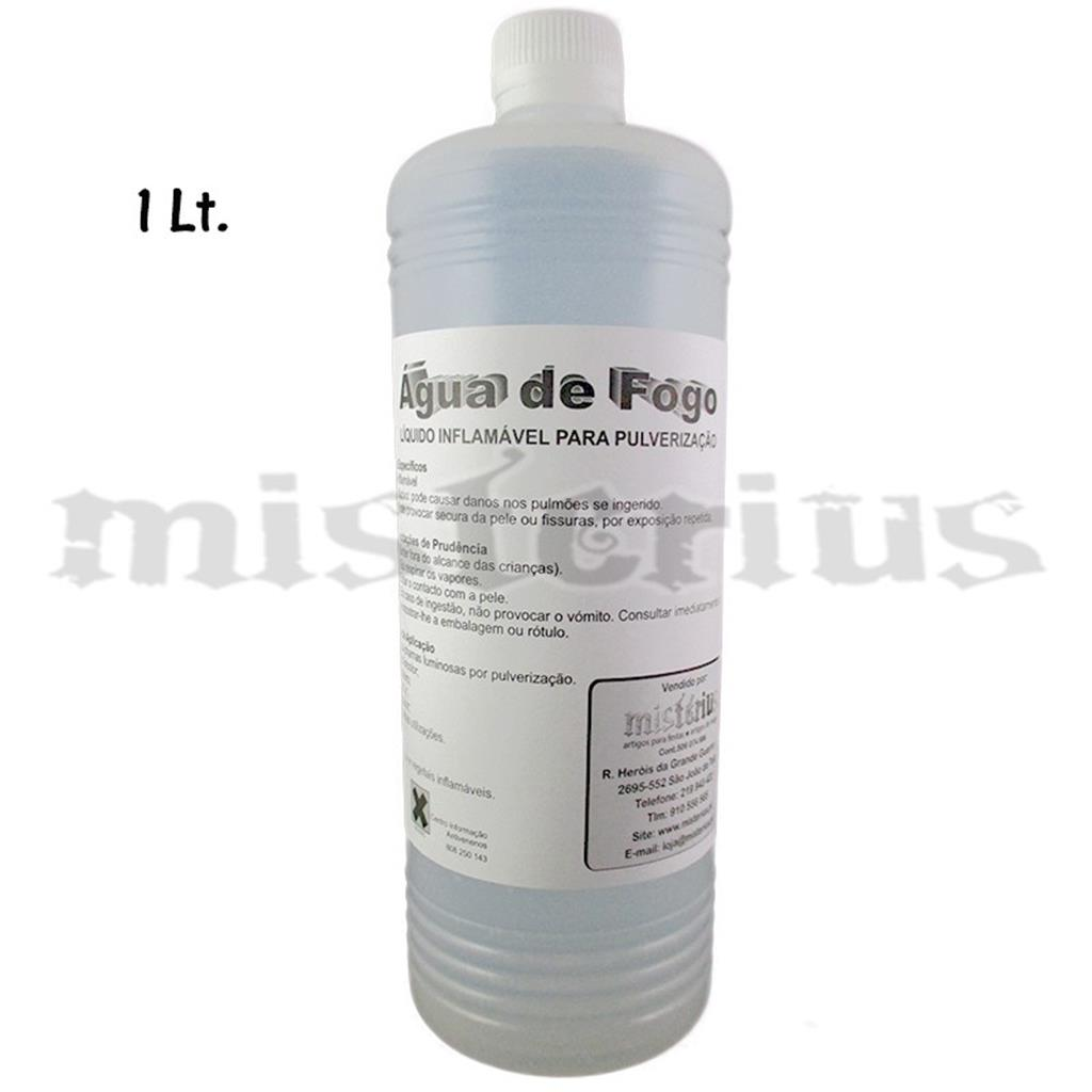Água de Fogo 1 litro - Fire Water - Fakir ;